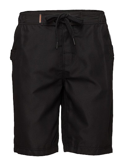 SUPERDRY PANEL BOARDSHORT - BLACK