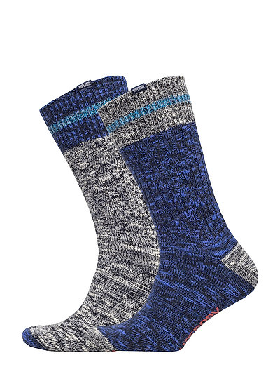 BIG SDRY MNTNR SCK DOUBLE PACK - NAVY MIX/COBALT MIX