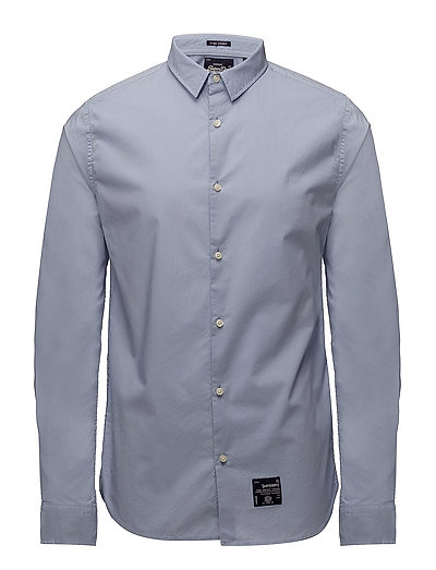FINE COUNT CUT AWAY L/S SHIRT - LIGHT LAVENDER
