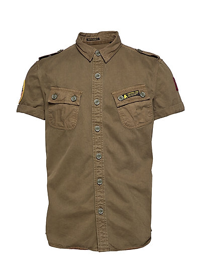 HYBRID ARMY CORPS LIGHT S/S SHIRT - TRENCH ARMY