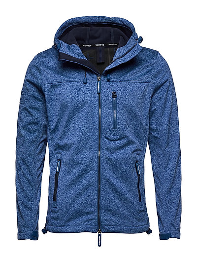 SUPERDRY Hooded Windtrekker Dünne Jacke Blau SUPERDRY