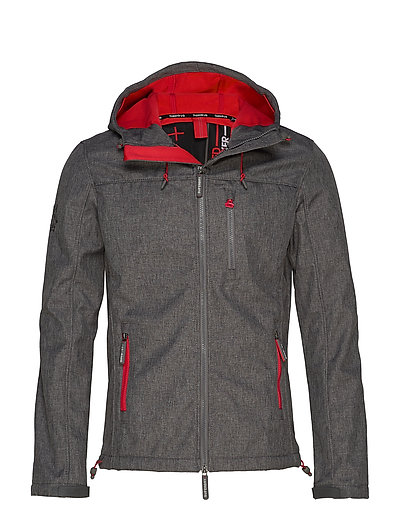 SUPERDRY Hooded Windtrekker Dünne Jacke Grau SUPERDRY
