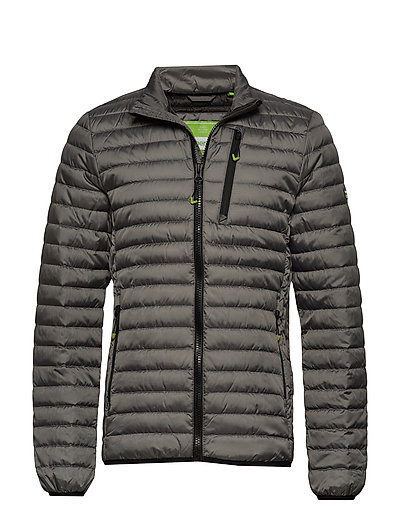 SUPERDRY Core Down Jacket Gefütterte Jacke Grau SUPERDRY