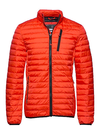 SUPERDRY Core Down Jacket Gefütterte Jacke Orange SUPERDRY