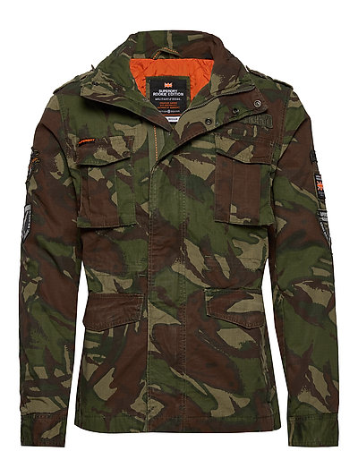 SUPERDRY Hero Rookie Military Jacket Dünne Jacke Grün SUPERDRY