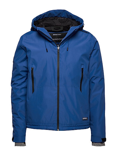 SUPERDRY Padded Elite Windcheater Gefütterte Jacke Blau SUPERDRY