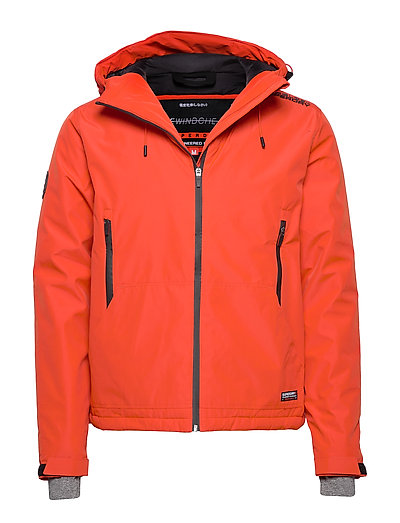 SUPERDRY Padded Elite Windcheater Gefütterte Jacke Orange SUPERDRY