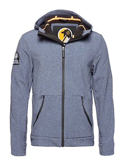 MOUNTAINEER SOFTSHELL - NAVY CATIONIC/BLACK