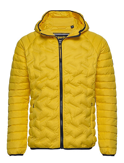 SUPERDRY Down Radar Mix Quilt Jacket Steppjacke Gelb SUPERDRY