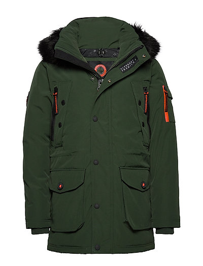 SUPERDRY Premium Ultimate Down Parka Parka Jacke Grün SUPERDRY