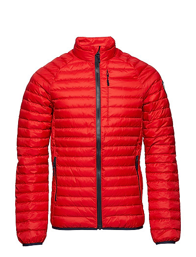 CORE DOWN JACKET - RED