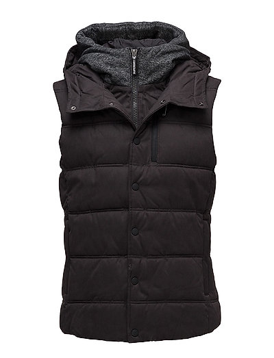 MICROFIBRE PITCHING GILET - BLACK