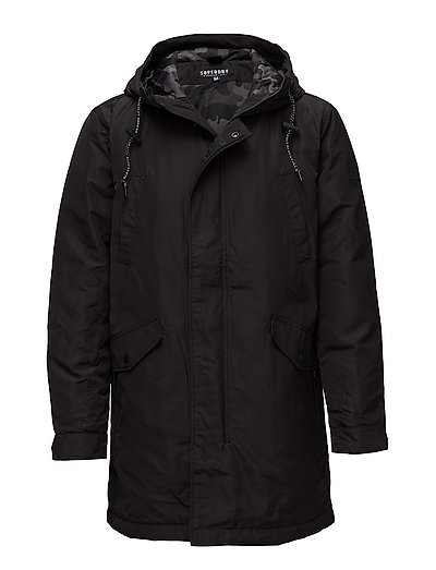 SURPLUS GOODS HEAVY WGHT PARKA - BLACK