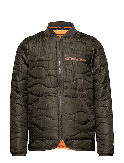 Air Corps Padded Liner Jacket Gefütterte Jacke Grün SUPERDRY