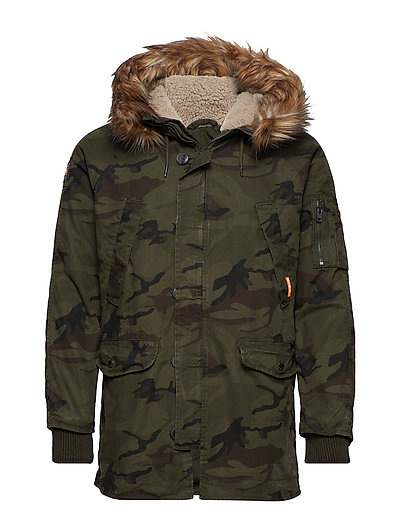 ROOKIE HEAVY WEATHER PARKA - HURRICANE CAMO