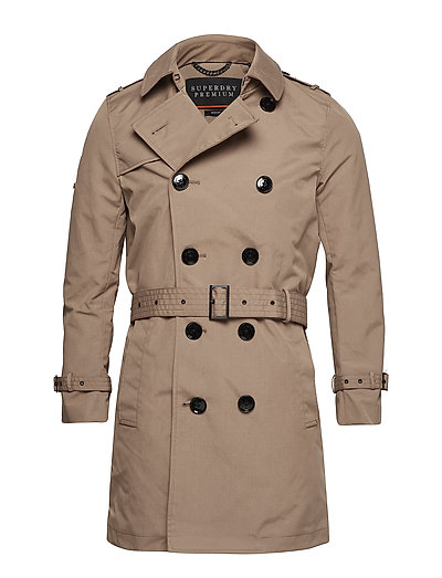 Director Trench Trenchcoat Mantel Beige SUPERDRY
