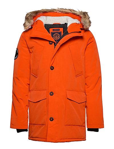 Everest Parka Parka Jacke Orange SUPERDRY | SUPERDRY SALE
