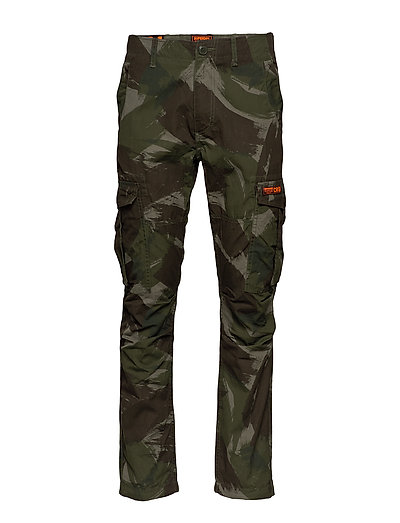 Parachute Cargo Pant Trousers Cargo Pants Grün SUPERDRY