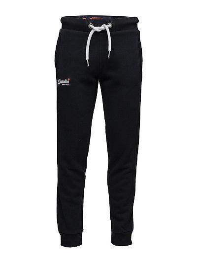 Orange Label Jogger Sweatpants Jogginghose Schwarz SUPERDRY