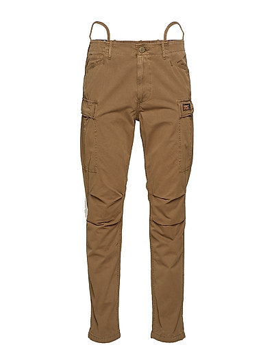 Core Cargo Pant Trousers Cargo Pants Braun SUPERDRY