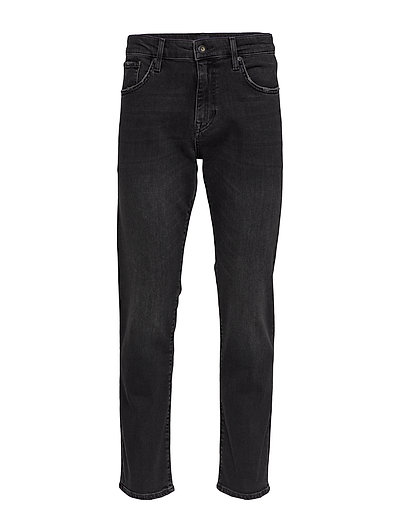 04 Daman Straight Jeans Schwarz SUPERDRY