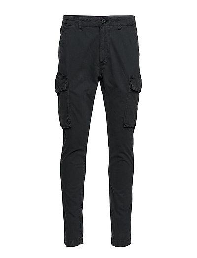 Slim Cargo Pant Trousers Cargo Pants Schwarz SUPERDRY
