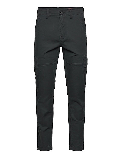 Core Cargo Trousers Cargo Pants Schwarz SUPERDRY
