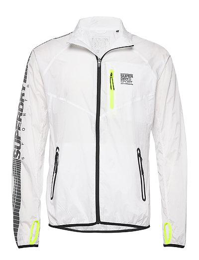 Training Lightweight Jacket Outerwear Sport Jackets Weiß SUPERDRY