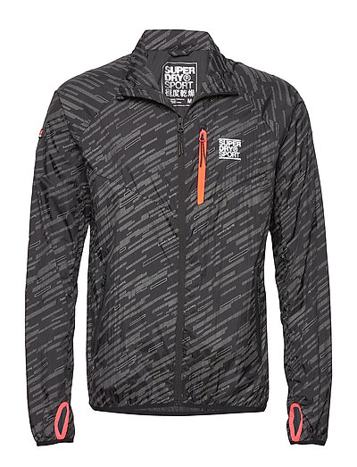 Training Lightweight Refl Jkt Outerwear Sport Jackets Schwarz SUPERDRY