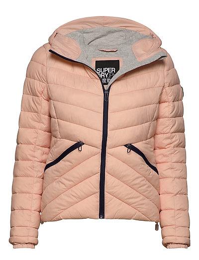 Ls Essentials Helio Padded Jacket Gefütterte Jacke Pink SUPERDRY