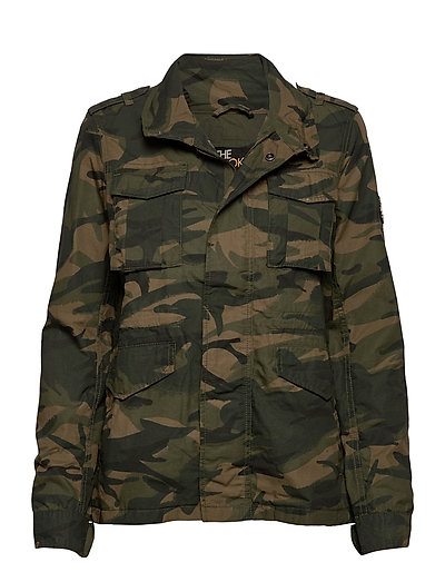 Ripstop Rookie Jacket Outerwear Jackets Utility Jackets Grün SUPERDRY | SUPERDRY SALE