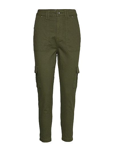 90'S Flash Cargo Pant Hose Mit Geraden Beinen Grün SUPERDRY