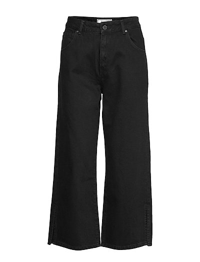 Edit Wide Leg Jean Jeans Mit Weitem Bein Loose Fit Schwarz SUPERDRY