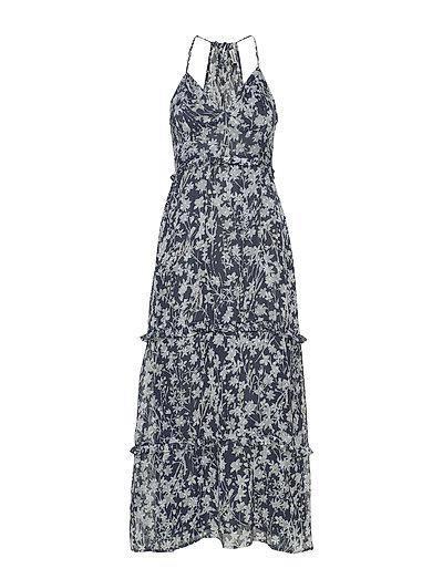 Margaux Maxi Dress Maxikleid Partykleid Blau SUPERDRY