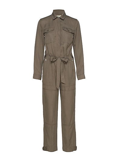 Desert Military Jumpsuit Jumpsuit Braun SUPERDRY