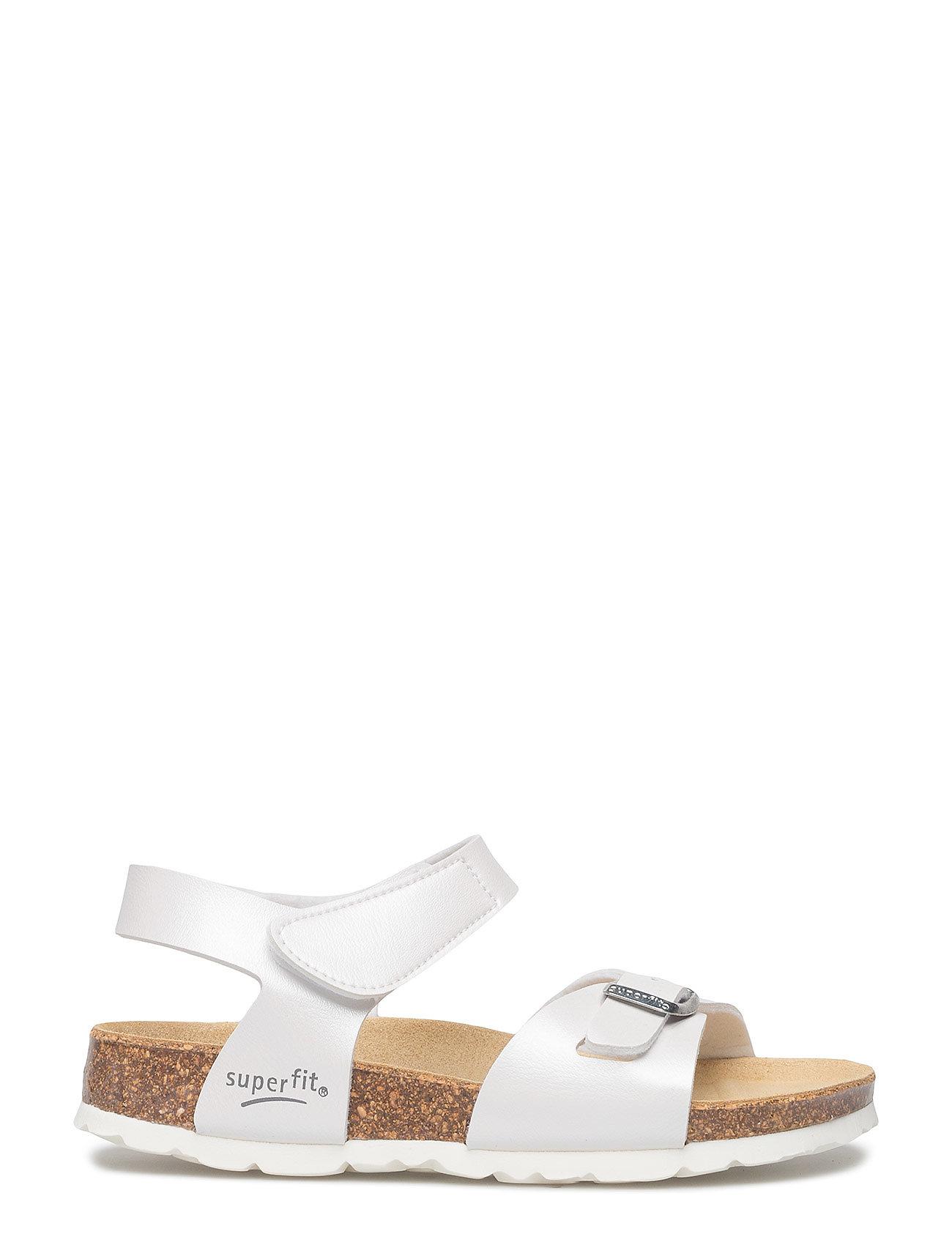 dfc48e35fb53 Superfit sandaler – Fussbettpantoffel til børn i Hvid - Pashion.dk
