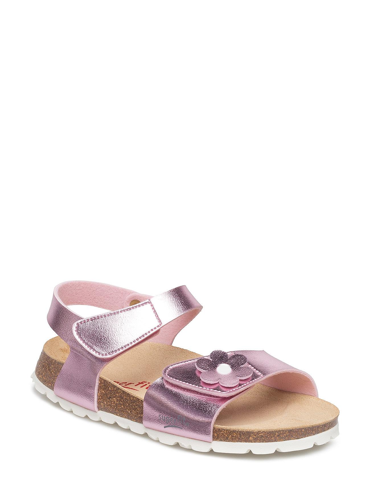 c448281eec9 Hvid Superfit Fussbettpantoffel sandaler for børn - Pashion.dk