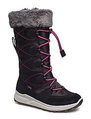MERIDA Stiefel - BLACK/RED