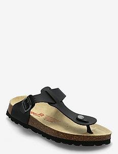 FUSSBETTPANTOFFEL - shoes - black