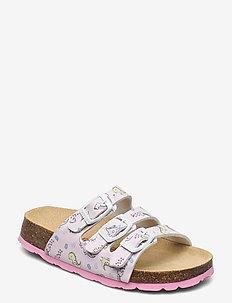 FUSSBETTPANTOFFEL - sandals - rosa