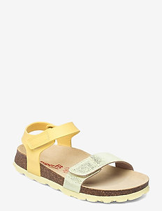 FUSSBETTPANTOFFEL - shoes - yellow