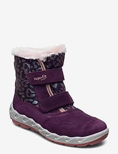 ICEBIRD - vinter boots - lila/rosa