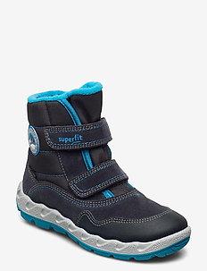 ICEBIRD - vinter boots - grau/blau