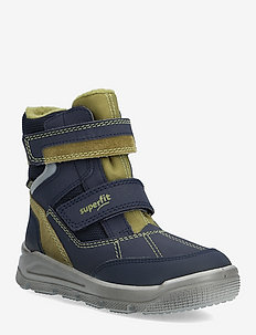 MARS - winter boots - blue/green
