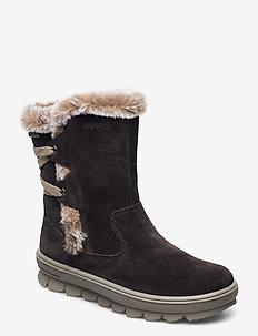 FLAVIA - vinter boots - braun