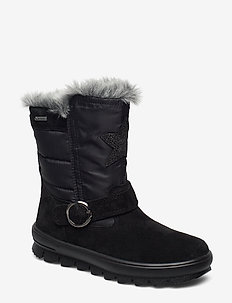 FLAVIA - vinter boots - black