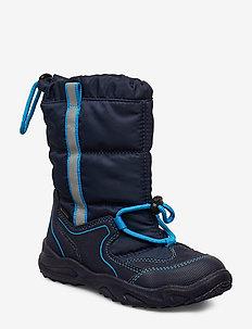 GLACIER - vinter boots - blue/blue