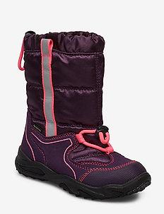GLACIER - vinter boots - lilac/rose