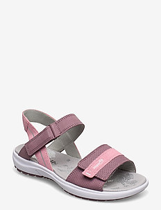RAINBOW - sandals - lilac/rose