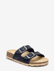 FUSSBETTPANTOFFEL - sandals - ocean